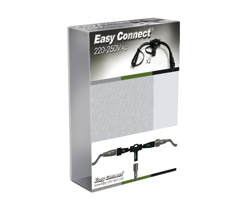 Easy Connect connector flexibel 2 st.