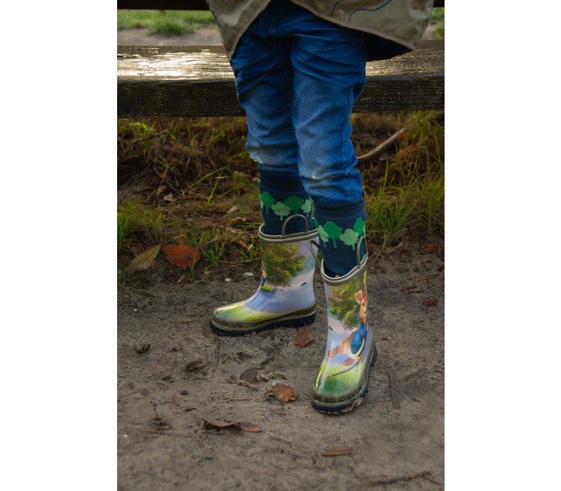 Adventure boot sokken Pieter Konijn