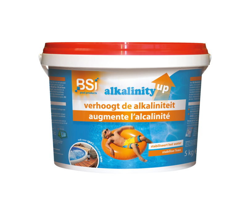 Alkalinity up | BSI Zwembadonderhoud