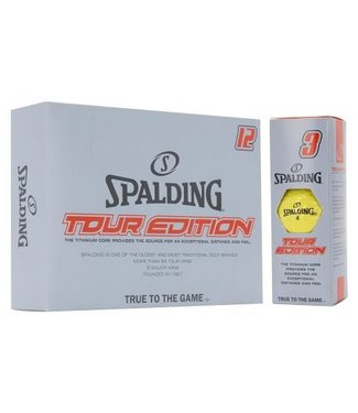 SPALDING Spalding 15-ball pack Geel