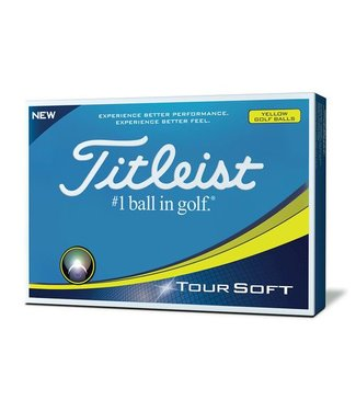 TITLEIST Tour Soft Yellow Dozijn