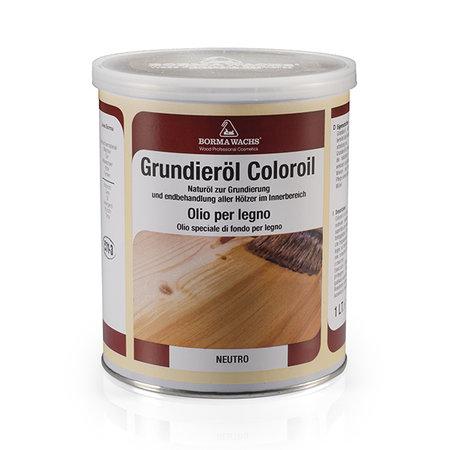 Borma Wachs Grundieroil Coloroil - Transparant