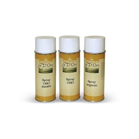 Borma Wachs Spray Touch Up 30% Gloss - Zilver / Goud / Ducaat Goud / Koper