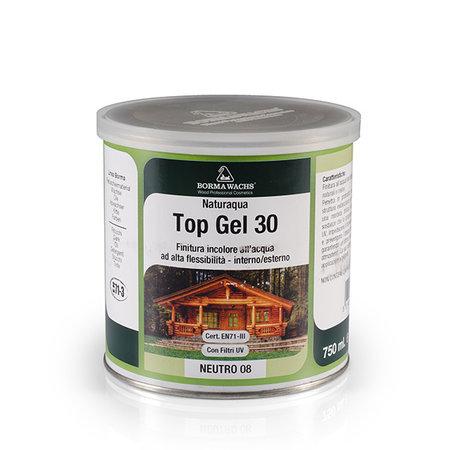 Borma Wachs Watergedragen Top Gel 30% Gloss - Transparant