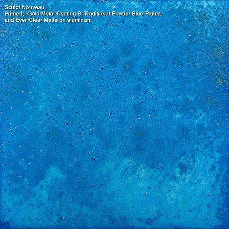 Sculpt Nouveau Blauwe Patina's
