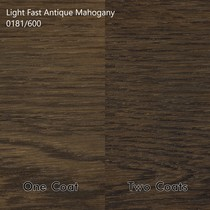 Light Fast Stains - Mahonie hout - Kleurcollectie