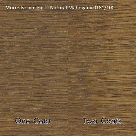 Morrells Light Fast Stains - Mahonie hout - Kleurcollectie