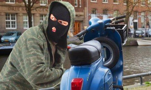 Hoe voorkom ik diefstal van mijn scooter?