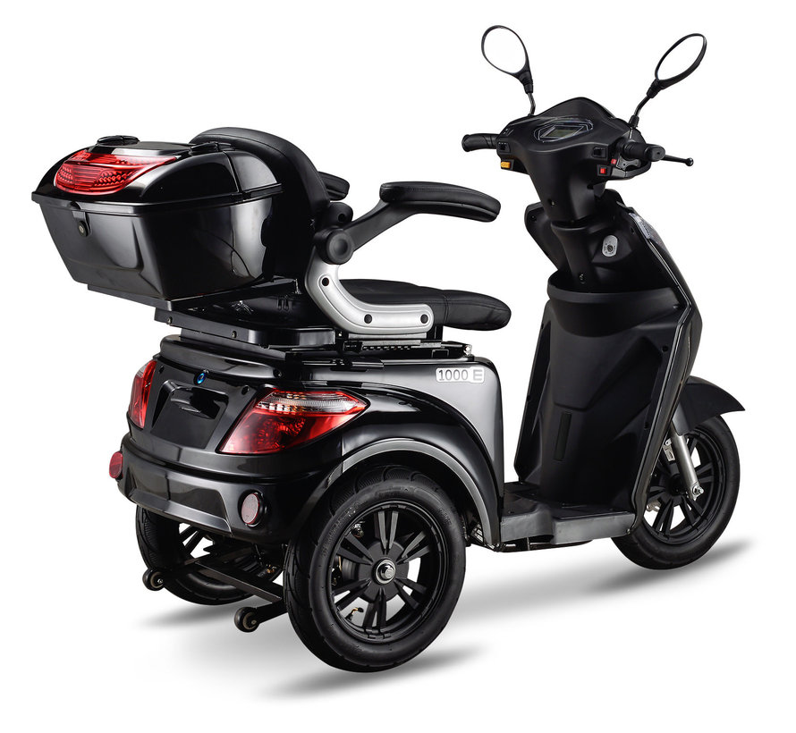 IVA E1000 scootmobiel Zwart
