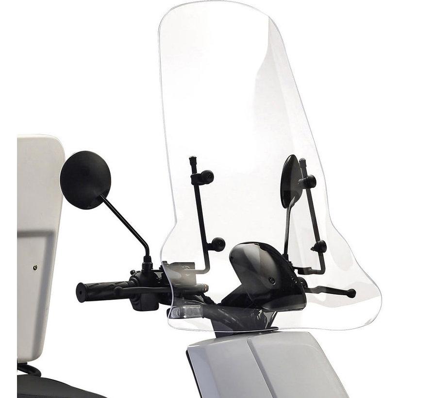 IVA E-GO S3/S5 Windscherm Transparant