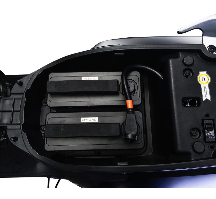 IVA E-GO S5 Special Matblauw