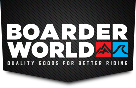 De shop voor longboarden, snowboarden en kitesurfen