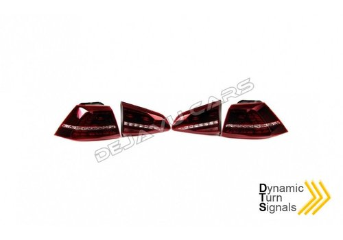 DEPO Dynamic LED Tail Lights for Volkswagen Golf 7