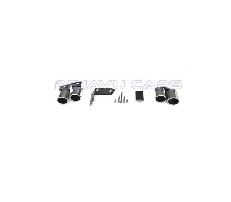 S line Look Diffusor + Auspuffblenden für Audi A4 B8