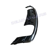 S3 Look Diffusor Black Edition + Auspuffanlage für Audi A3 8V (Standard hintere Stoßstange)