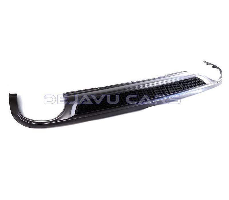 S line Look Diffusor + Auspuffblenden für Audi A4 B8.5