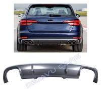 S4 Look Diffuser voor Audi A4 B9