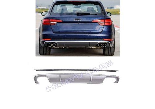 OEM LINE S4 Look Diffusor für Audi A4 B9