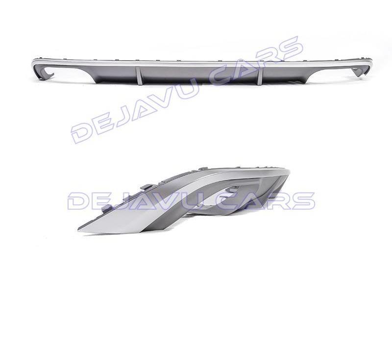S4 Look Diffusor + Auspuffblenden für Audi A4 B9