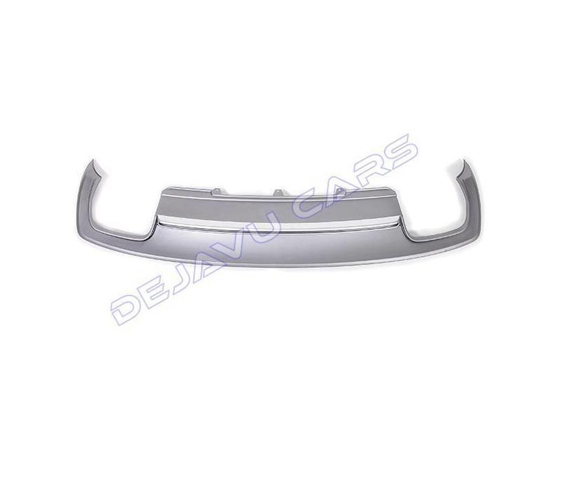 S6 Look Diffuser + Uitlaat sierstukken voor Audi A6 C7 4G / S line / S6