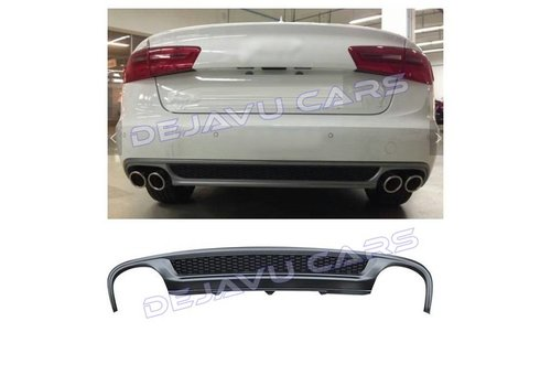 OEM LINE S line Look Diffuser for Audi A6 C7 4G