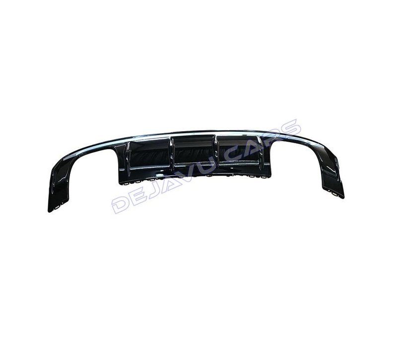 S3 Look Diffuser Black Edition for Audi A3 8V S line / S3