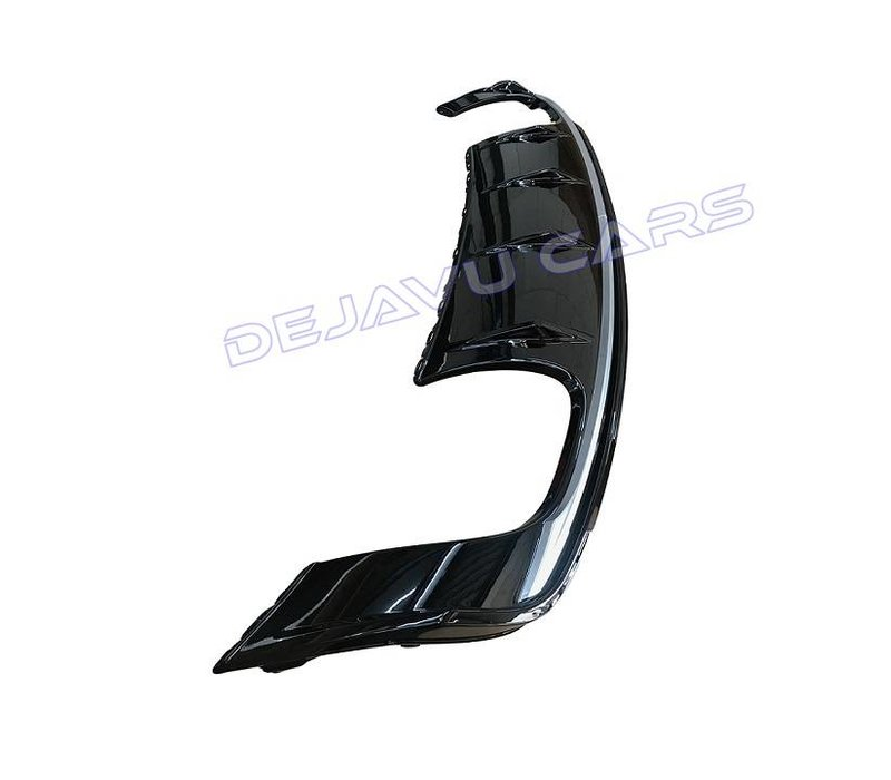 S3 Look Diffuser Black Edition voor Audi A3 8V S line / S3