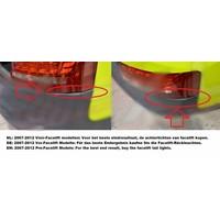 RS5 Look Achterbumper voor Audi A5 8T Coupe & Cabrio