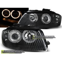 Headlights with Angel Eyes for Audi A3 8P