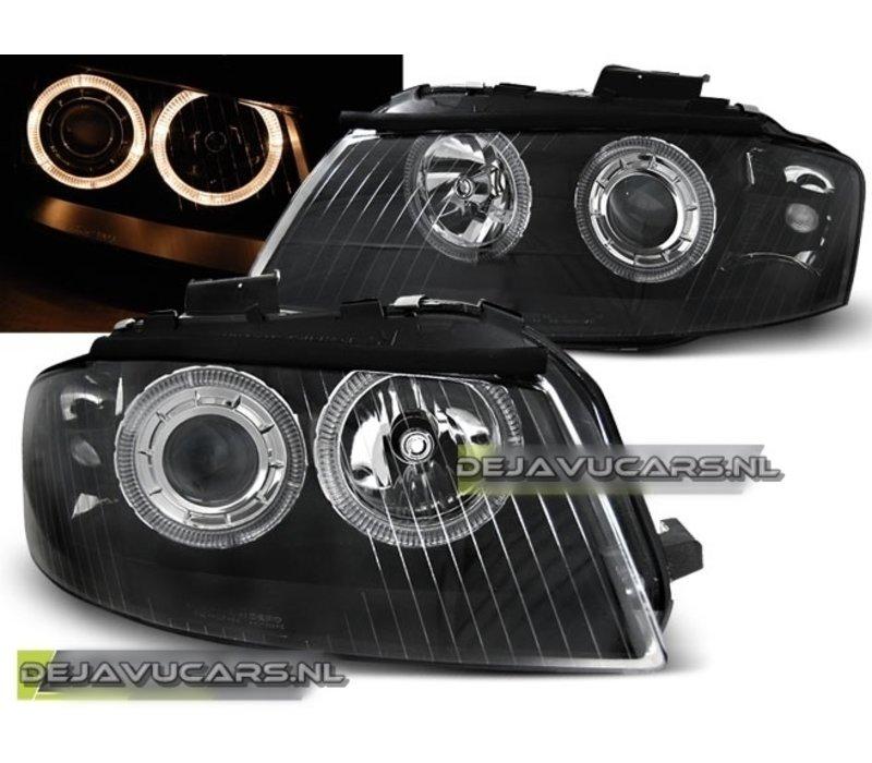 Koplampen met Angel Eyes voor Audi A3 8P