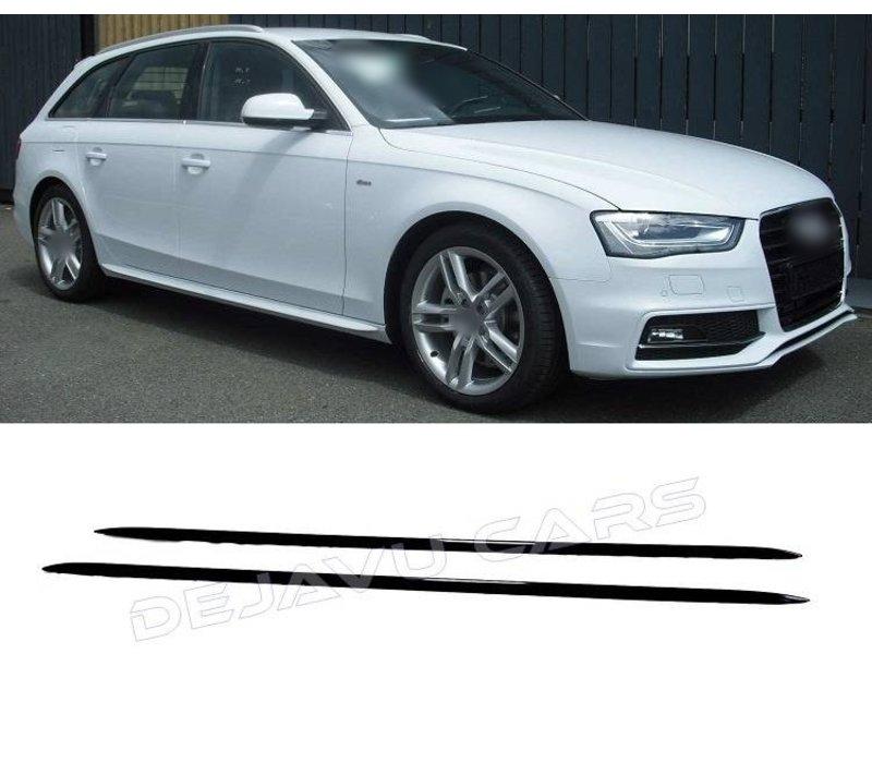 S line Look Side Skirts für Audi A1 A3 A4 A5 A6 A8