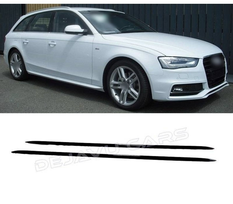 S line Look Side Skirts voor Audi A1 A3 A4 A5 A6 A8