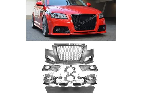 DEJAVU CARS - OEM LINE RS3 Look Voorbumper voor Audi A3 8P