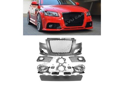 OEM LINE RS3 Look Voorbumper voor Audi A3 8P
