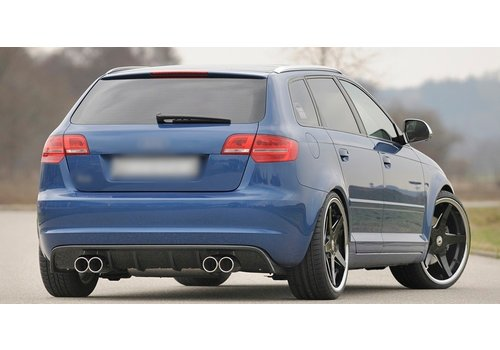 Rieger S3 / RS3 look Diffuser voor Audi A3 8P
