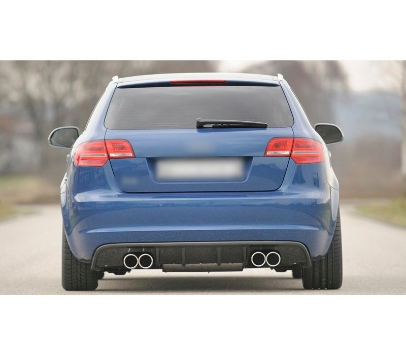 S3 / RS3 look Diffuser voor Audi A3 8P