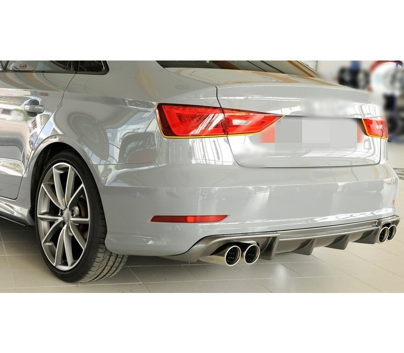 S3 Look Diffusor für Audi S3 8V / S line