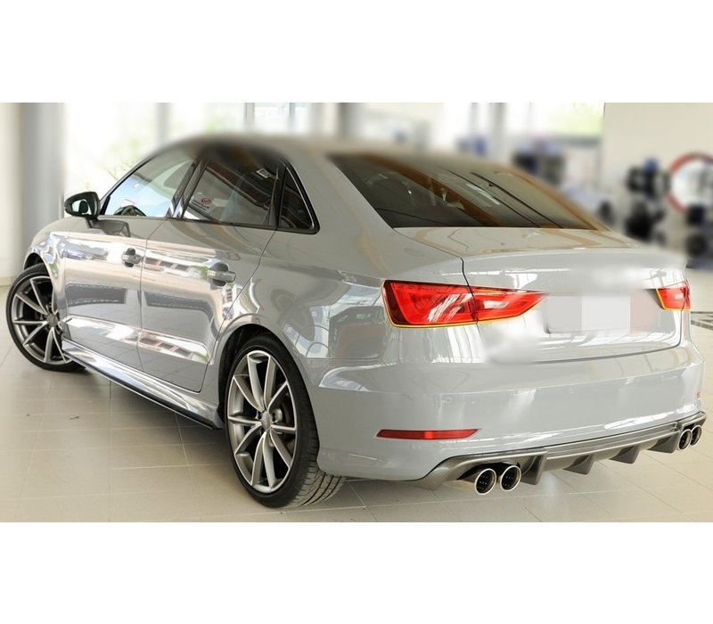 S3 Look Diffuser for Audi S3 8V / S line