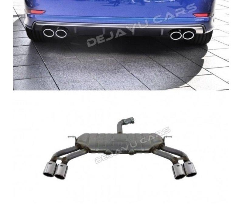 S3 Look Auspuffanlage für Audi A3 8V