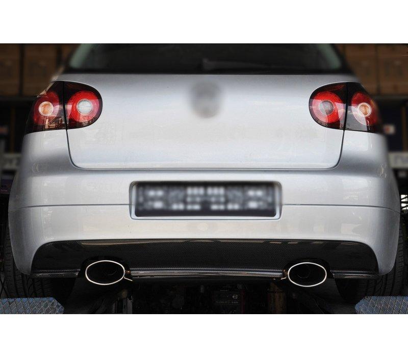 RS Look Uitlaat Tips 152mm x 95mm voor Audi