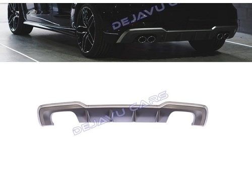 OEM LINE S3 Look Diffuser Platinum gray for Audi A3 8V (S line rear bumper)