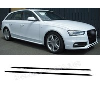 S line Look Side Skirts for Audi A4 A5 A6 A7