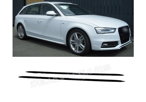 OEM LINE S line Look Side Skirts for Audi A4 A5 A6 A7