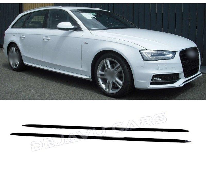S line Look Seitenschweller für Audi A4 A5 A6 A7