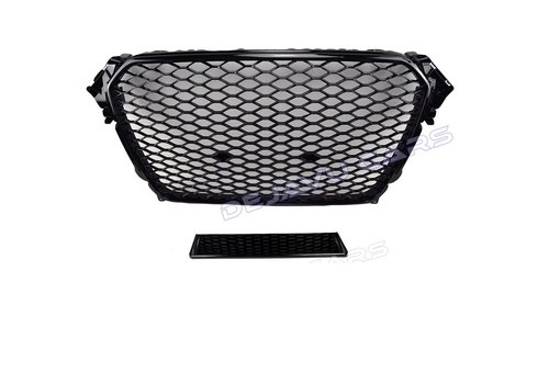 OEM LINE RS4 Look Front Grill Black Edition for Audi A4 B8.5