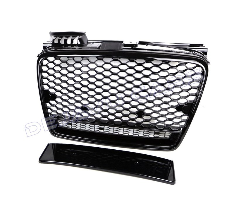 RS4 Look Front Grill for Audi A4 B7