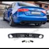 DEJAVU CARS - OEM LINE RS4 Look Diffuser voor Audi A4 B8