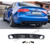 OEM LINE RS4 Look Diffuser for Audi A4 B8