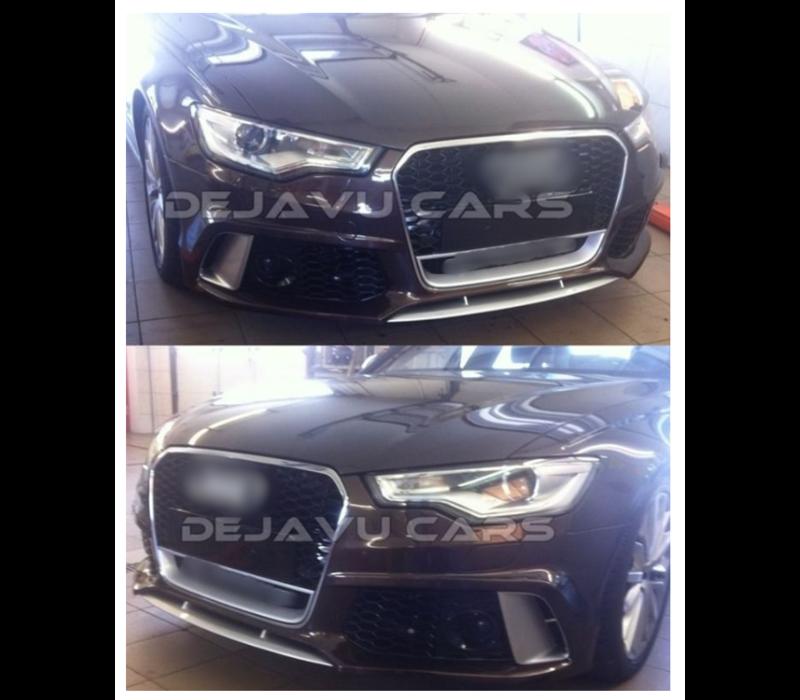 DEJAVU CARS - OEM LINE RS6 Look Front bumper for Audi A6 C7 4G