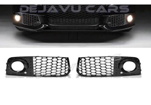 OEM LINE RS Look Nebelscheinwerfer Blenden für Audi A4 / S4 / S line